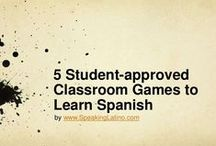 Classroom - Spanish / Spanish Class - Ideas - Inspiration - Printables - Activities - Teaching