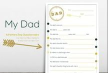Father's Day / Father's Day - Activities for Kids - Gifts - Inspiration