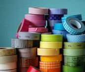 Masking Tape, Washi Tape / Alles rund um das schöne bunte Klebeband, Masking Tape und Washi Tape