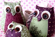 Owl Obsession / You have to admit- they are super cute! :) / by Angela Lee