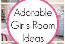 Kids - Girl's Room / Girl's Rooms - Design - Decor - Layout - Inspiration - Ideas