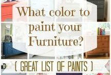 Home Ideas - Decor - Painting Furniture / Home Ideas - Design - Decor - Layout - Inspiration - Ideas - Painting