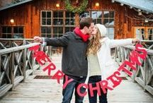 Christmas Card Ideas / Christmas Card Ideas - Couples - Family - Photography - Inspiration