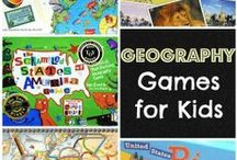 Classroom - Geography / Geography Class - Ideas - Inspiration - Printables