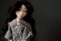 Annete / Handmade textile doll,OOAK,2013