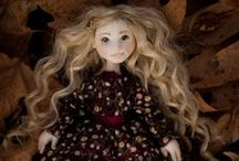 Linda / Handmade ooak doll by Romantic Wonders