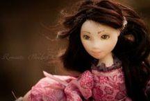 Leyla / Handmade ooak doll by Romantic Wonders                      www.rwdolls.com
