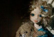 Iliana / Handmade ooak textile doll by Romantic Wonders