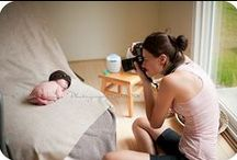 Newborn Photography / Behind the scenes of newborn photography and some ideas for you to think about bringing up to your photographer