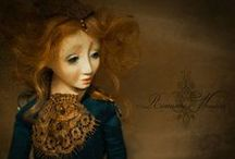 Alkioni / Handmade one of a kind doll by Romantic Wonders