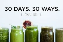 Drinks - Smoothies & Juices / Paleo - All Natural - Fruits - Veggies - Smoothies - Juices - Healthy Living