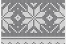 Muster / Alles zum Thema Muster: zum zeichnen, stricken und häkeln