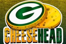 "Proud ""Cheesehead"" / Go Pack Go! / by Angela Malo"