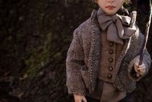 Oliver Twist. Handmade Art doll. By Romantic Wonders. / Oliver was sculpted of polymer clay with strong steel armature inside. All clothes (two sets) were sewed by the hand of cotton,linen and silk fabrics, shoes were sewed of real leather, hair was made of mohair.