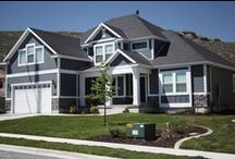 Exterior Home Ideas / Are you looking for ideas for your NEW Home? Check out these exterior ideas from EDGEhomes. http://www.edgehomes.com/gallery/exteriors/