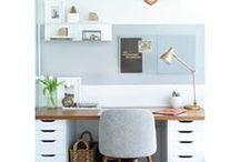 Arbeitsplatz, Home Office / Alles zum Thema Arbeitsplatz - zuhause oder im Büro.
