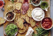 Abendbrot, Abendessen, Brotzeit / Alles zum Thema Abendbrot - Belege Brote, Aufstriche und Dipps: es gibt Schnittchen Schneewitchen