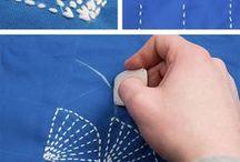 Sashiko: japanische Sticktechnik / Alles zum Thema Sashiko und japanisches Sticken