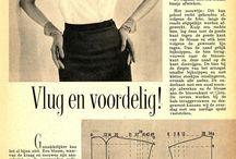 Sewing patterns - vintage