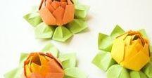 DIY Papierblumen / Blumen aus Papier, selbstgemachte gebastelte Papierblumen