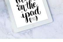 iPad Lettering / Alles rund um das Thema Hand Lettering, Brush Lettering mit dem iPad Pro und dem Apple Pencil.