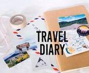 Travel Journal, Reise Tagebuch / Alles zum Thema Reise Tagebuch und Travel Journal. Urlaubserinnerungen mit Zeichnungen, Skizzen, Sketches, Icons, Lettering, Schriften und Fotos in einem Notizbuch festhalten.