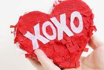Valentinstag / Jede Menge Ideen für den Valentingstag: DIY, Essen und Geschenke für Verliebte.