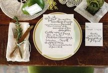 Wedding Tablescapes/ Inspiration
