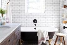 BATHROOMS / From contemporary to traditional. Bathroom styles to suit every taste.
