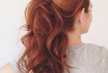 Hair / Hair styles and hair care. Long hair, short hair, braided hair, curly hair. Hairstyles for every occasion.