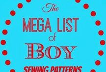 Boy Sewing / Sewing patterns and tutorials to sew for boys.