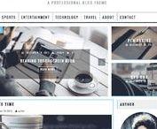 Themes Wordpress gratuits / Découvrez des thèmes wordpress gratuits à utiliser pour personnaliser votre site.