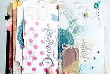 Art Journals + Journaling