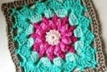 Crochet Granny Square Patterns / Crochet Granny Square Patterns