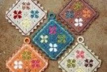 Crochet Potholders/Hot pads/Trivets Patterns / Crochet Potholders/Hot pads/Trivets Patterns