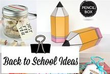 Back To School / How to be too Cool for School