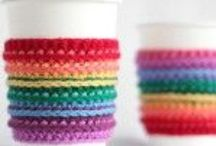 Crochet cup/tea cozies Patterns / Crochet cup/tea cozies Patterns