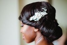// Wedding Wear // / Dress, hair, shoes, accessories!