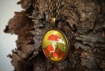 Autumn Jewelry by Lizzie M. Press / Autumn and woodland themed jewelry for you, your loved ones, weddings, parties, and holidays.  / by Liz Masters
