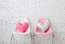 // Love Day // / Everything sweet, cute, and heart shaped for Valentine's Day!
