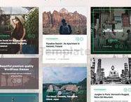 Theme Wordpress pro / Découvrez des thèmes Wordpress professionnels pour mettre à jour le design de votre site.
