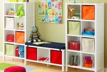 Playroom ideas / Gonna get that playroom decorated some day...