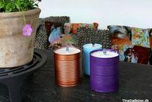 GENBRUG - DIY / Idéer med genbrug