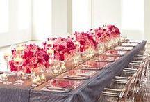 Centerpieces - Low  / by Tori - Platinum Elegance Weddings & Events