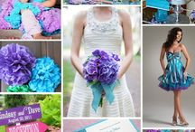 Color Scheme Inspiration Boards / by Tori - Platinum Elegance Weddings & Events