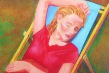 my paintings I (figurative) / my work