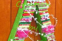 Christmas Crafts / Inspirational board for creating Christmas projects
