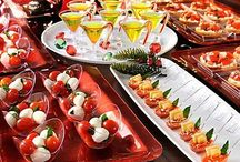 Parties - Food Displays / by Tori - Platinum Elegance Weddings & Events