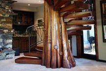 WoodTrac | Amazing Wood Stairs! / From organic, classical, contemporary to modern - designers and craftsmen are honored for their beautiful woodwork!