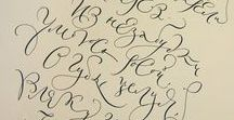 Calligraphy & Fonds